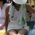 【放送事故画像】甲子園始まったし応援席のハプニング画像うPするわ!