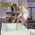 【温泉キャプ画像】ハミ乳しまくりでポロリが期待できる温泉レポートww