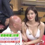 【胸チラキャプ画像】今のタレント達はどんなけ胸ちらするかでテレビに出れるか決まるみたいww