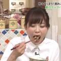 【疑似フェラキャプ画像】どうしてタレントさん達はこんなやらしい顔して食レポするんだろうか?w
