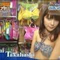 【ビキニキャプ画像】アイドルメンバーが試着してビキニを紹介していた番組でケツを楽しむwww