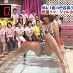 【女性タレント生足画像】短いスカートで生足をテレビで見せつけるタレント画像