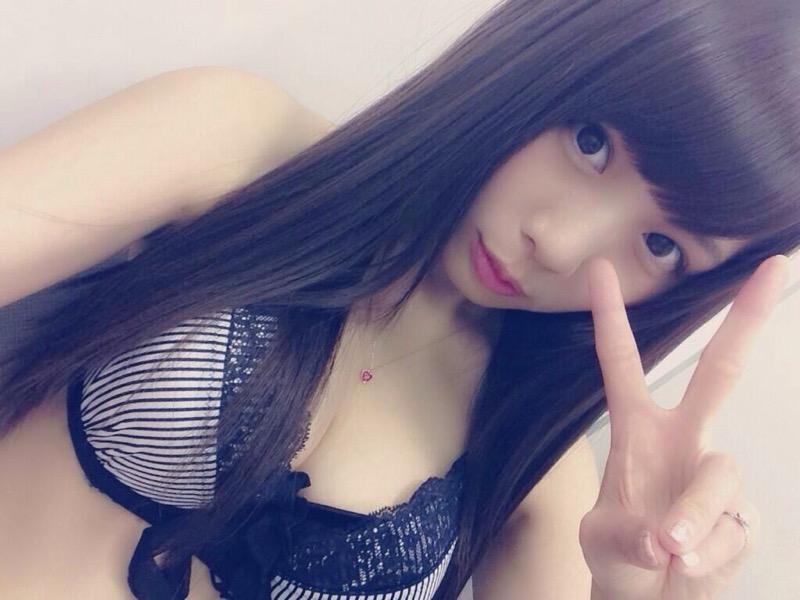 【計良日向子水着エロ画像】アキバ系アイドルグループのタレ目が可愛い巨乳娘!