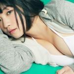 【根本凪グラビア画像】ボブヘアが可愛いGカップ美少女アイドルのビキニエロ画像