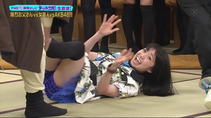 【AKB48放送事故画像】アイドルっていつでもどこでもエロいハプニングを期待されて大変だなぁw