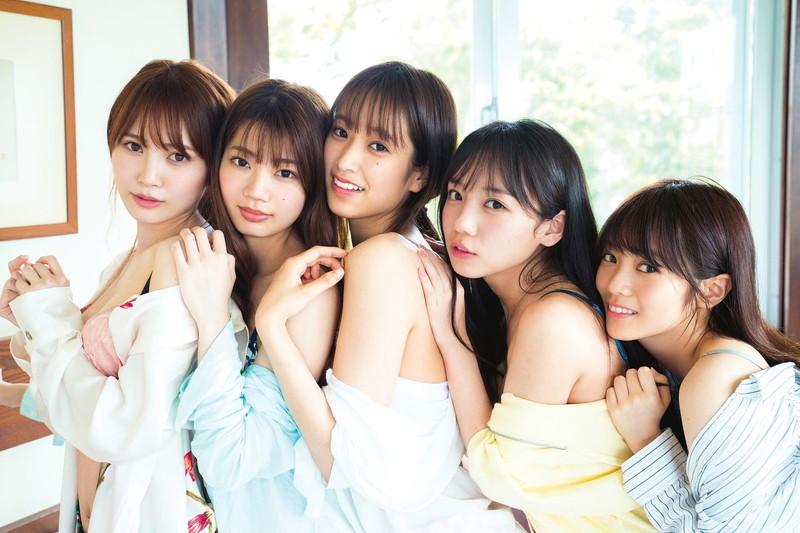 【美少女アイドル画像】美少女勢揃い!坂系アイドルたちのちょっとエッチなグラビア