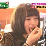 【中田花奈キャプ画像】可愛い乃木坂46アイドルが大口開けて激辛食レポw