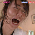 【磯山さやかお宝画像】乳首を挟まれて苦悶の表情を浮かべる迷演技wwww