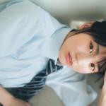 【賀喜遥香グラビア画像】太めの眉が純朴美少女って感じがして可愛い!
