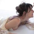 【大島由香里キャプ画像】着衣おっぱいとグラビアの谷間がエロい美熟女アナ!