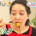 【女子アナキャプ画像】日テレ女子アナウンサーの食レポと着衣おっぱい