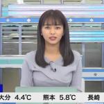 【女子アナキャプ画像】お天気お姉さんのニットおっぱい!