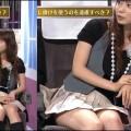【放送事故画像】スカートの奥の方が気になってしょうがない!これは見えてる?