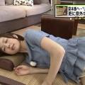 【寝顔キャプ画像】思わず夜這いでも仕掛けたくなるような、女子アナやアイドルの可愛い寝顔ww