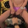 【お宝エロ画像】ケンコバのバコバコTVで美女達がロデオマシーン乗りながらエロい事させられてたww