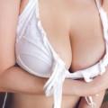 【前原あいグラビア画像】メートル級のIカップ垂れ爆乳でチンコを挟んで欲しかった!