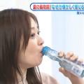 【水卜麻美キャプ画像】日テレ人気女子アナのニット越しオッパイと疑似フェラ!